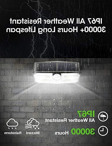LITOM Premium Solar Lights Outdoor, Optional Modes Sensor Easy-to-Install Security for Front Door, Deck-4