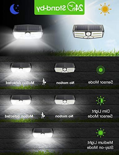 LITOM Premium Solar Lights Outdoor, Optional Wireless Wide Angle, Easy-to-Install Front Door, Yard, Garage, Deck-4