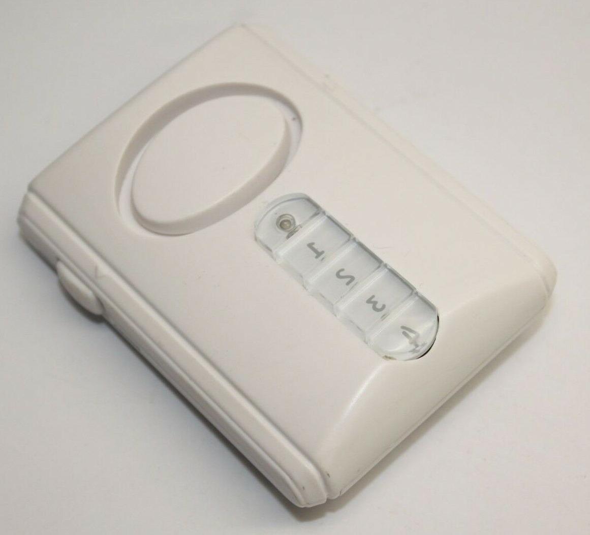 45117 deluxe wireless door alarm entry chime