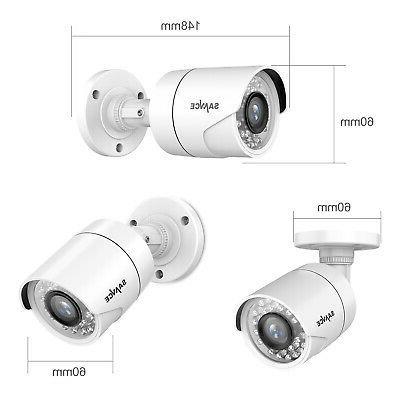 SANNCE CCTV DVR HD Outdoor Home Security System APP