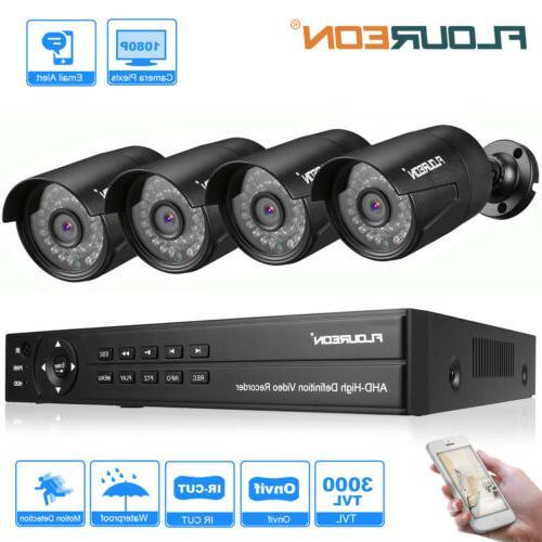 Waterproof 8CH 1080N HDMI DVR 3000TVL IR Bullet CCTV Home Se