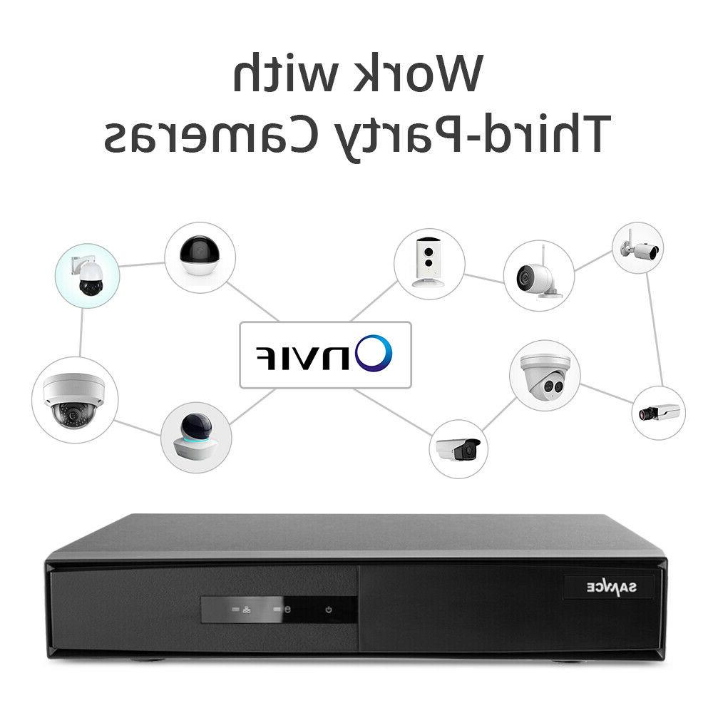 SANNCE 8CH 1080P CCTV Recorder Home Security Camera NO