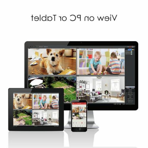 ZOSI 1080N Home Security Camera System 2 Cameras