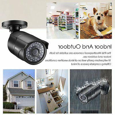 ZOSI 4CH DVR Outdoor Home Security IR Cut