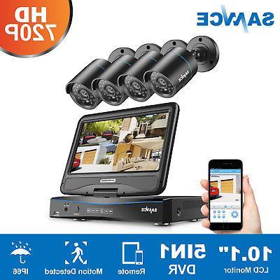 SANNCE 1080N LCD 1500TVL IR Camera System