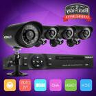4CH 1080N HDMI DVR HD 1500TVL Outdoor CCTV IR Night Home Sec