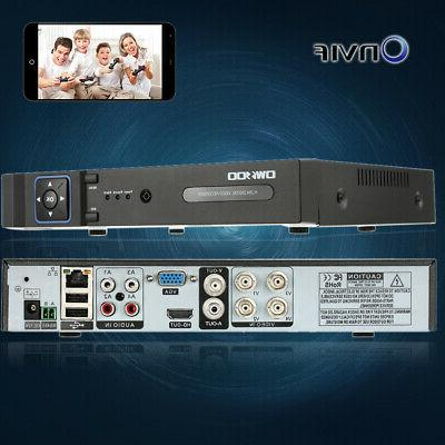 OWSOO 4Channel Video Home Security