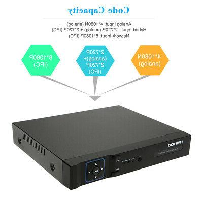 OWSOO 4Channel 1080P AHD Home Security