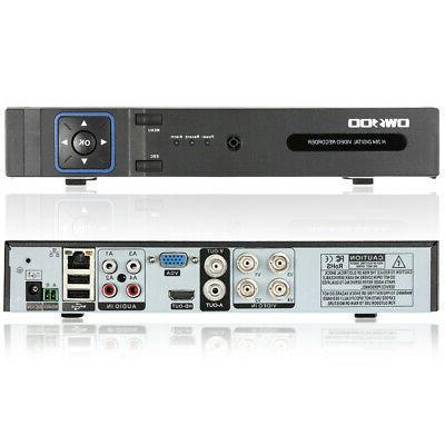 OWSOO 1080P NVR AHD Video P2P Home