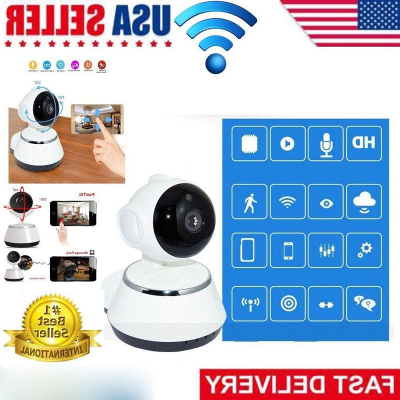 720P Wireless WIFI HD 1080P Pan Tilt Security IP Camera IR N
