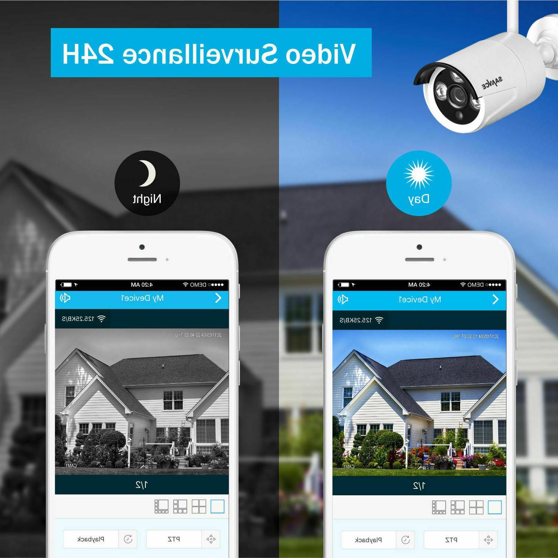 SANNCE NVR Wireless Network Camera System