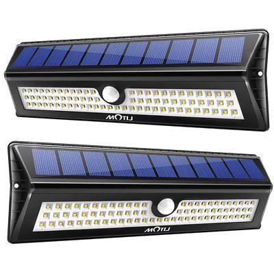77 leds solar light