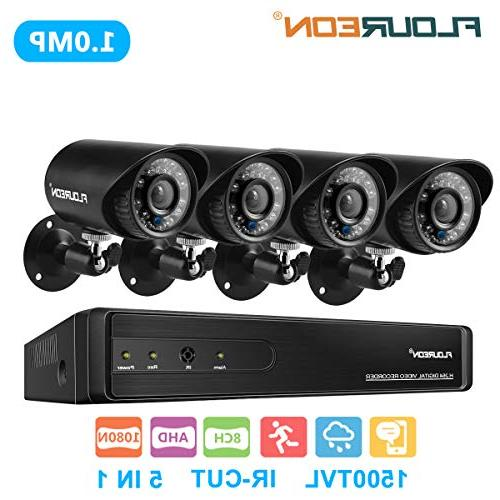 8 ch home security system