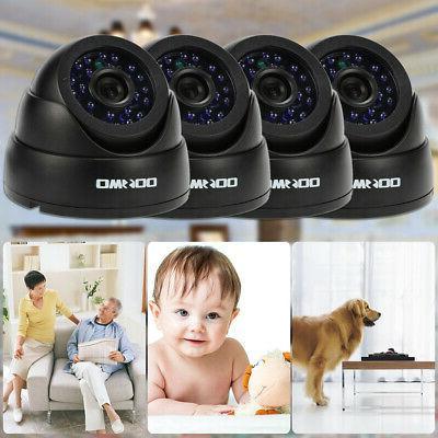 OWSOO 4pcs Camera IR-CUT+4* Home Security Night L7Q8