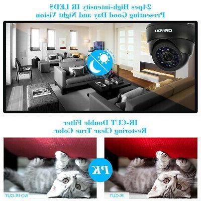 OWSOO Camera Kit IR-CUT+4* Home L7Q8