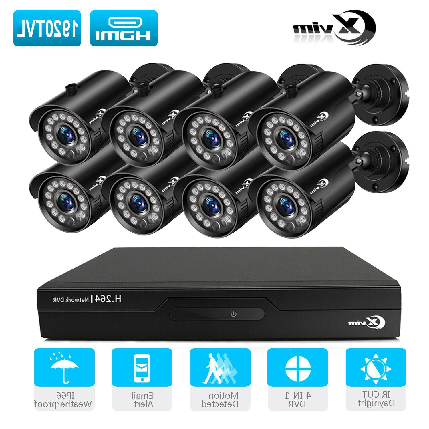 8ch 1080n home surveillance dvr 1920tvl outdoor