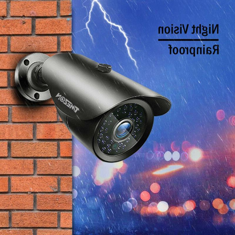 TMEZON 8CH AHD DVR 2.0MP Bullet System