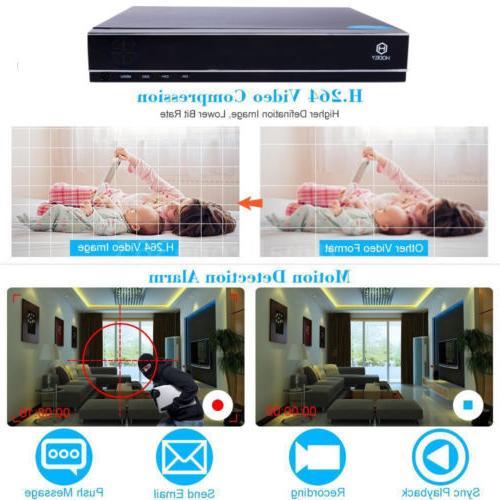 8CH 1080N IR CCTV Bullet Home Security System