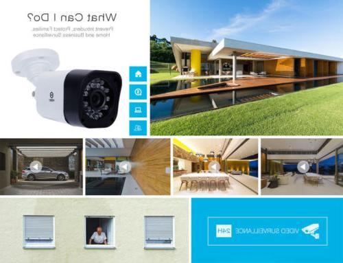 IR Night Vision 720P CCTV Camera Security