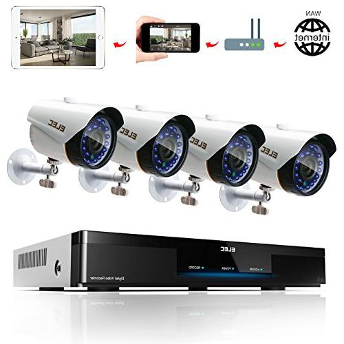 8ch ahd home security system