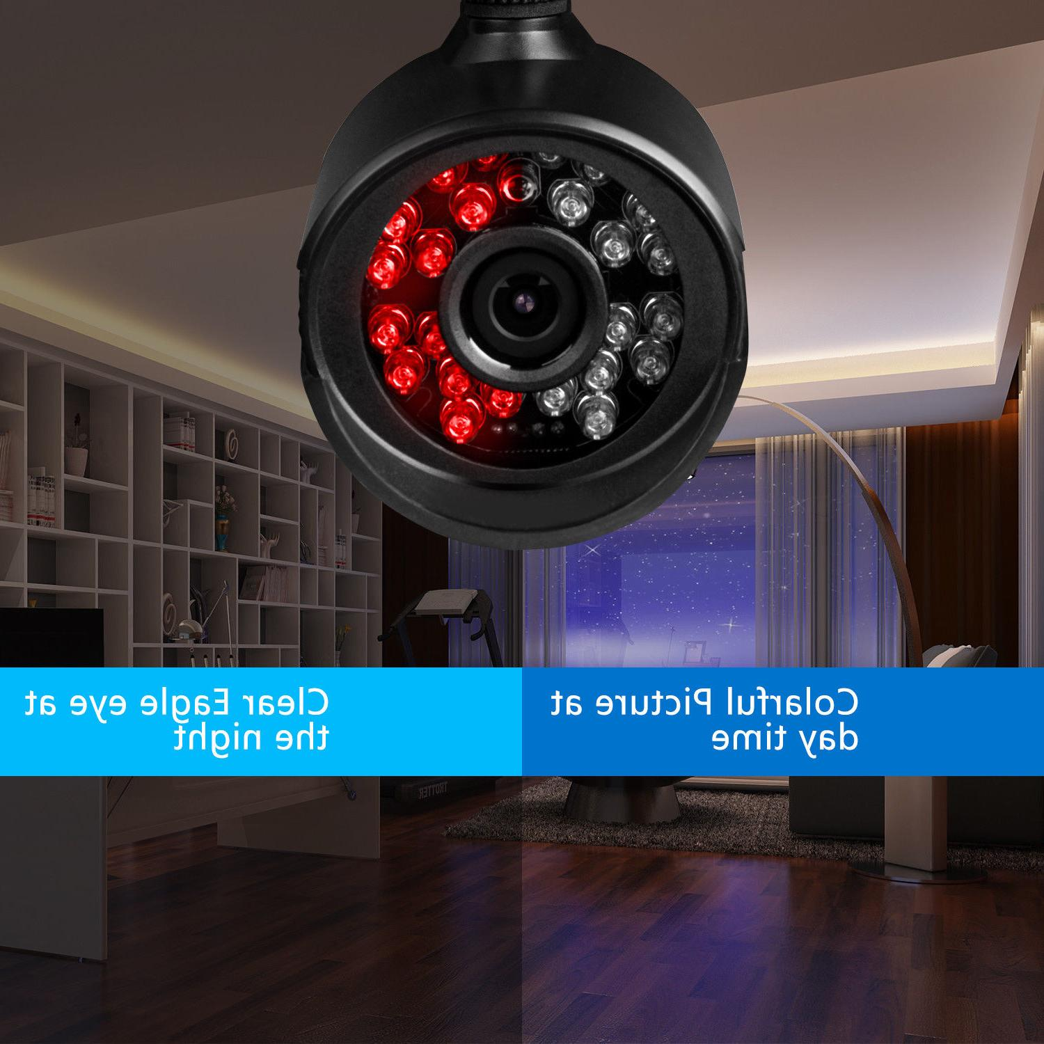 XVIM 8CH 1080N Outdoor Night Camera 1TB