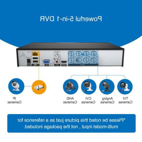 SANNCE HDMI CCTV DVR Video Home Security Camera System
