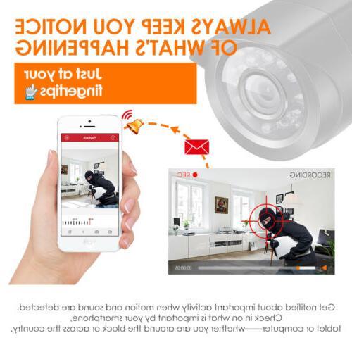 ZOSI 8CH 1080N DVR Home Security Camera 2 Cameras