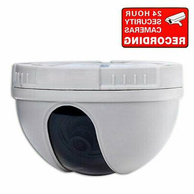 Dome Security Camera with Color CCD 3.6mm Wide Angle Lens Ho