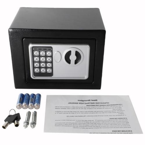 """9"""" Box Keypad Lock Home Security Office Safety"""