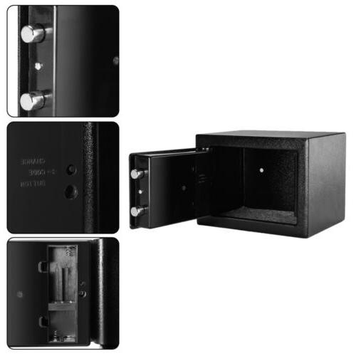 """9"""" Electronic Digital Safe Box Security Office Hotel"""