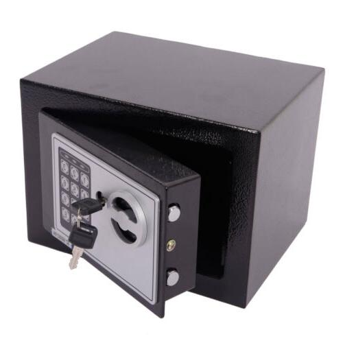 Box Safe Digital Steel Electronic Lock Home Security Office