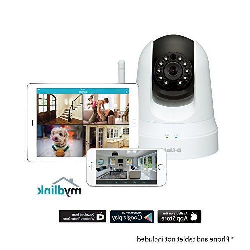 D-Link Pan Wi-Fi Camera