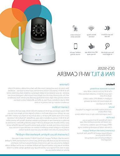 D-Link Pan & Wi-Fi Camera