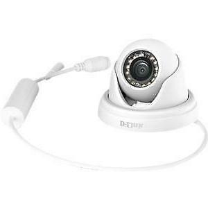 D-Link Vigilance Full-HD Mini Dome Camera, White