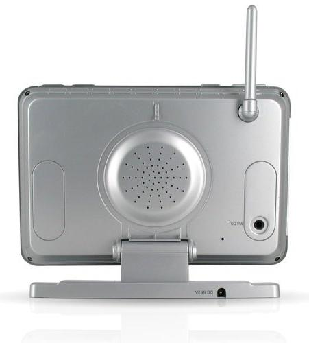 Defender Digital Wireless Security System with Inch Monitor, Card Recording and Long Range Cameras