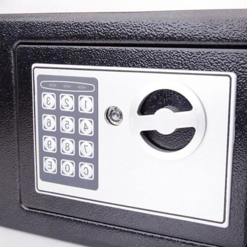 Electronic Safe Keypad Security Office Cash Jewelry Gun