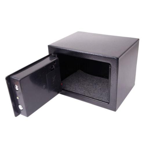 Electronic Digital Safe Box Keypad Lock Security Office