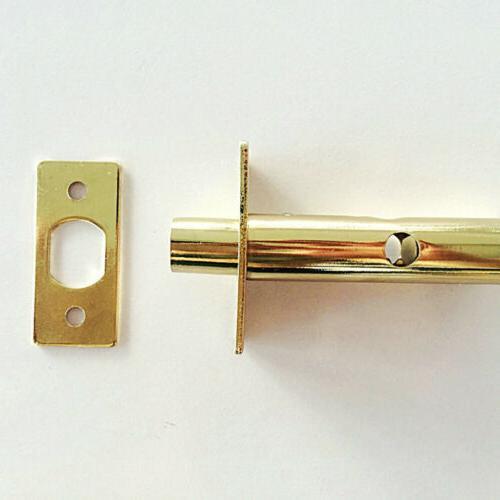 Home Door Window Rack Bolt Lock -Gold