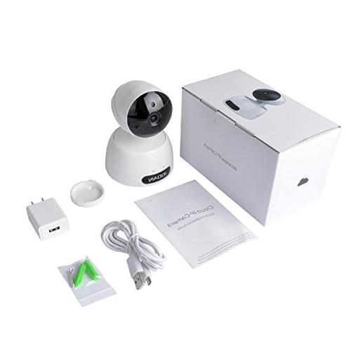 JOOAN 1080P Security Camera Home WiFi Camera Baby Audio/Night Detection