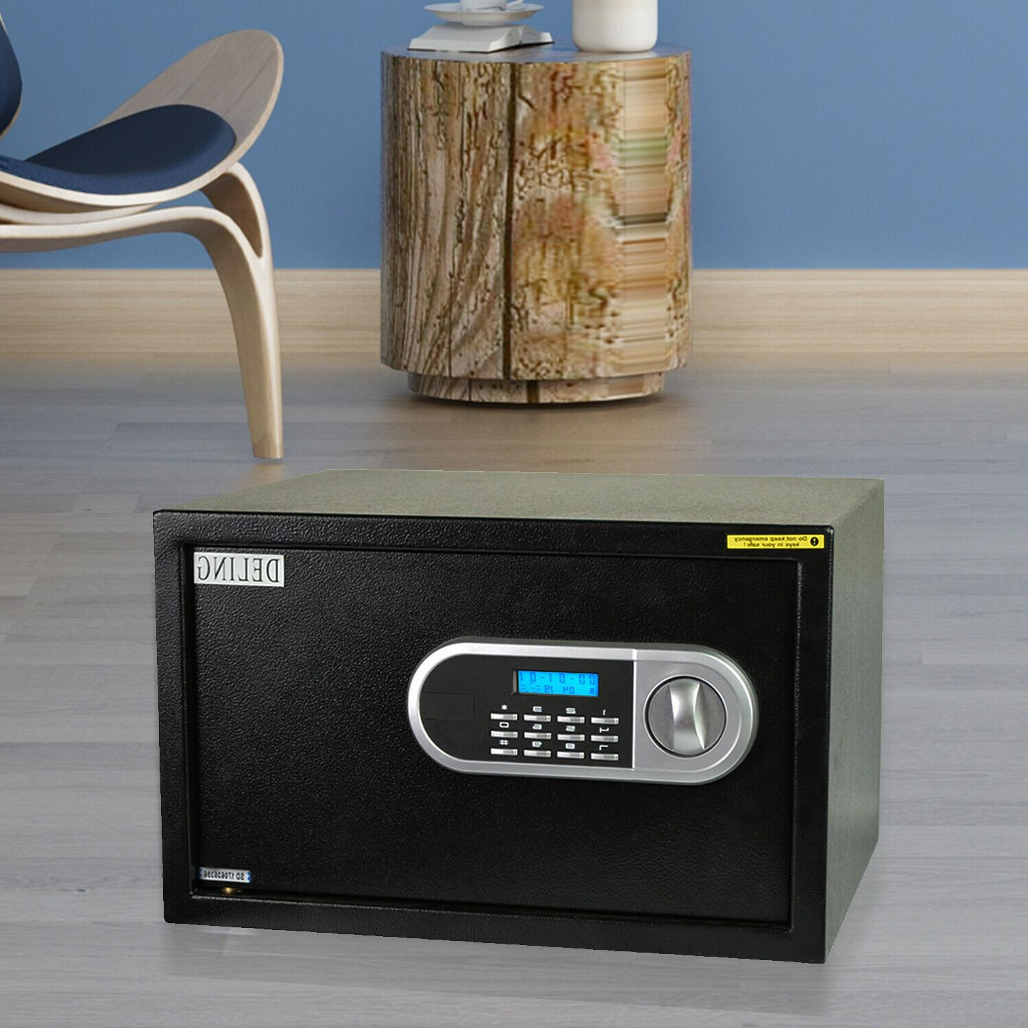 Large Digital Biometric Safe Fingerprint Code Lock Electroni