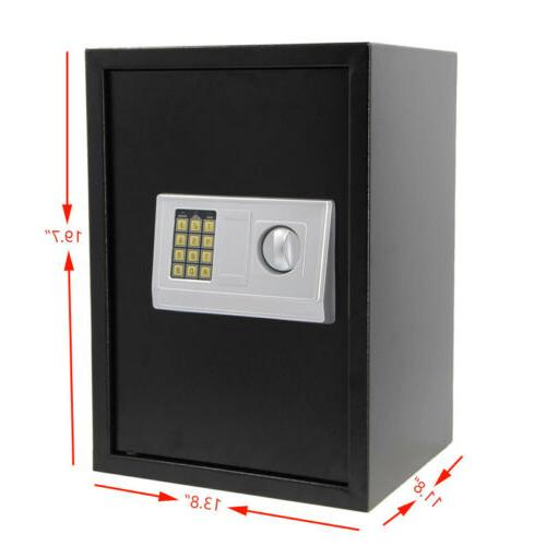 Large Home Security Electronic Keypad Lock Combination Gun Office Safe