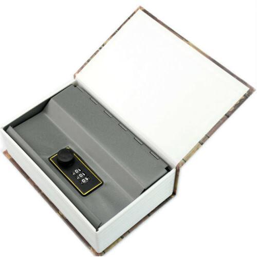 M Home Dictionary Book Safe Bank Storage Box Cash