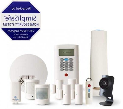 SimpliSafe 12-Piece Home Security System with HD Camera & Sm