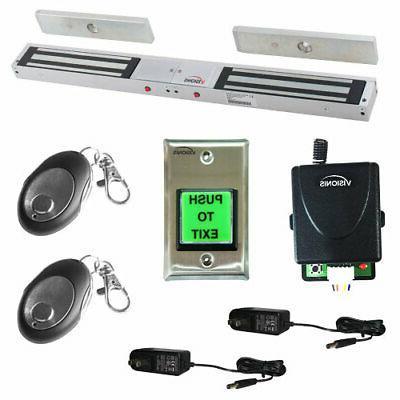 Visionis FPC-5199 One door Access Double Door 1,200lbs Elect