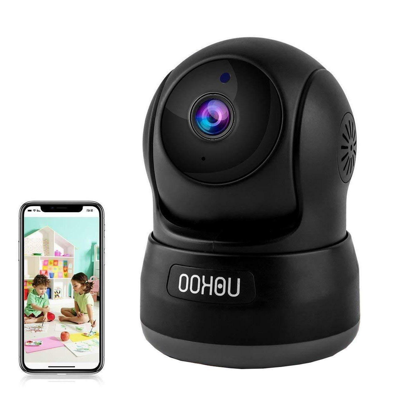 Wireless Security Camera, UOKOO 720P HD Home WiFi Wireless I