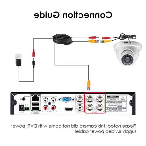 ZOSI Security 1080p HD 4in1