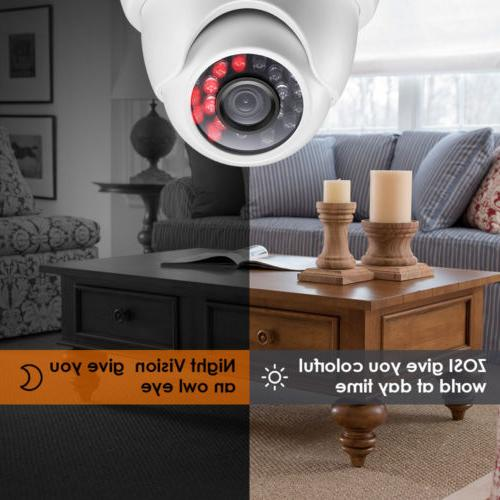 ZOSI Security Surveillance HD Night