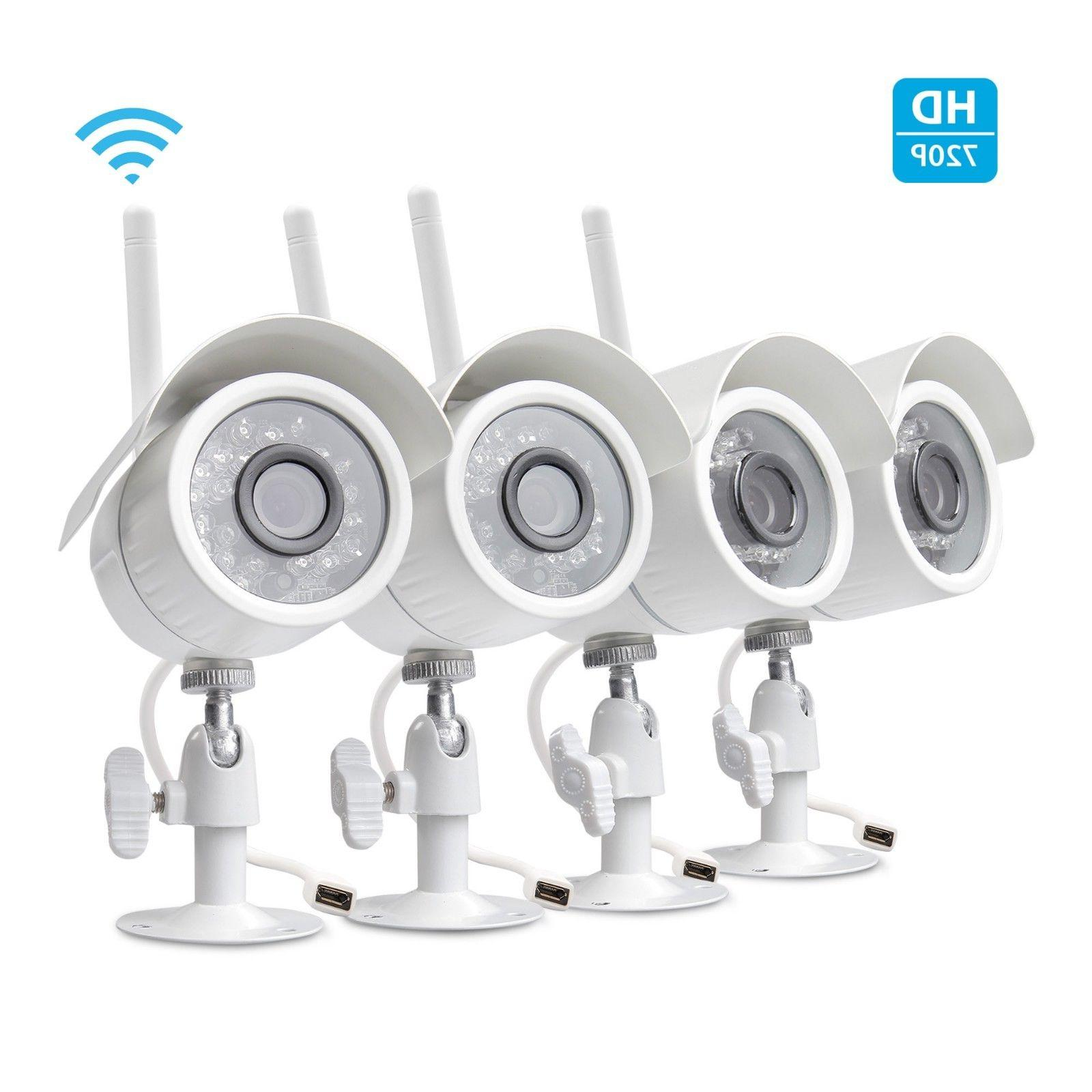 Funlux HDMI 4 Video Security System 500GB HDD