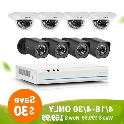 Zmodo Smart PoE Security System -- 8 Channel NVR & 8 x 720p