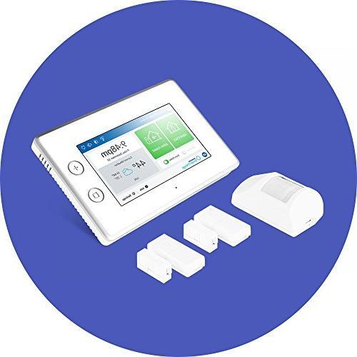 Samsung SmartThings Home Starter with DIY Alarm System Door Window Sensors, and Detector Alexa